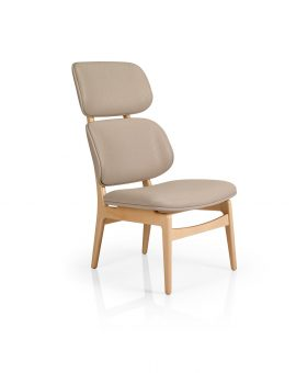 Brooke 716 High Back Lounge Chair